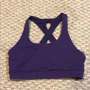 Purple lululemon bra size 4